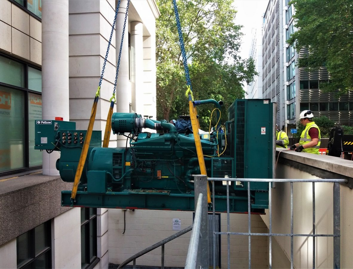 2 Gresham Street – Generator Removal – Stage 3 – Formatted – 1200px